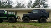 1987 Suzuki Samurai Softop For Sale in Anniston Alabama