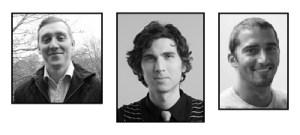 Emil Ejner Friis, Daniel Görtz och Sharif Shawky, medgrundare