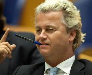 Geert Wilders, tongivande politiker i Holland.