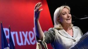 Marine Le Pen - for President?