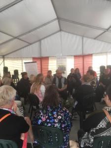 Hatets pyramid, Almedalsveckan, 40 aktiva medborgare i dialog