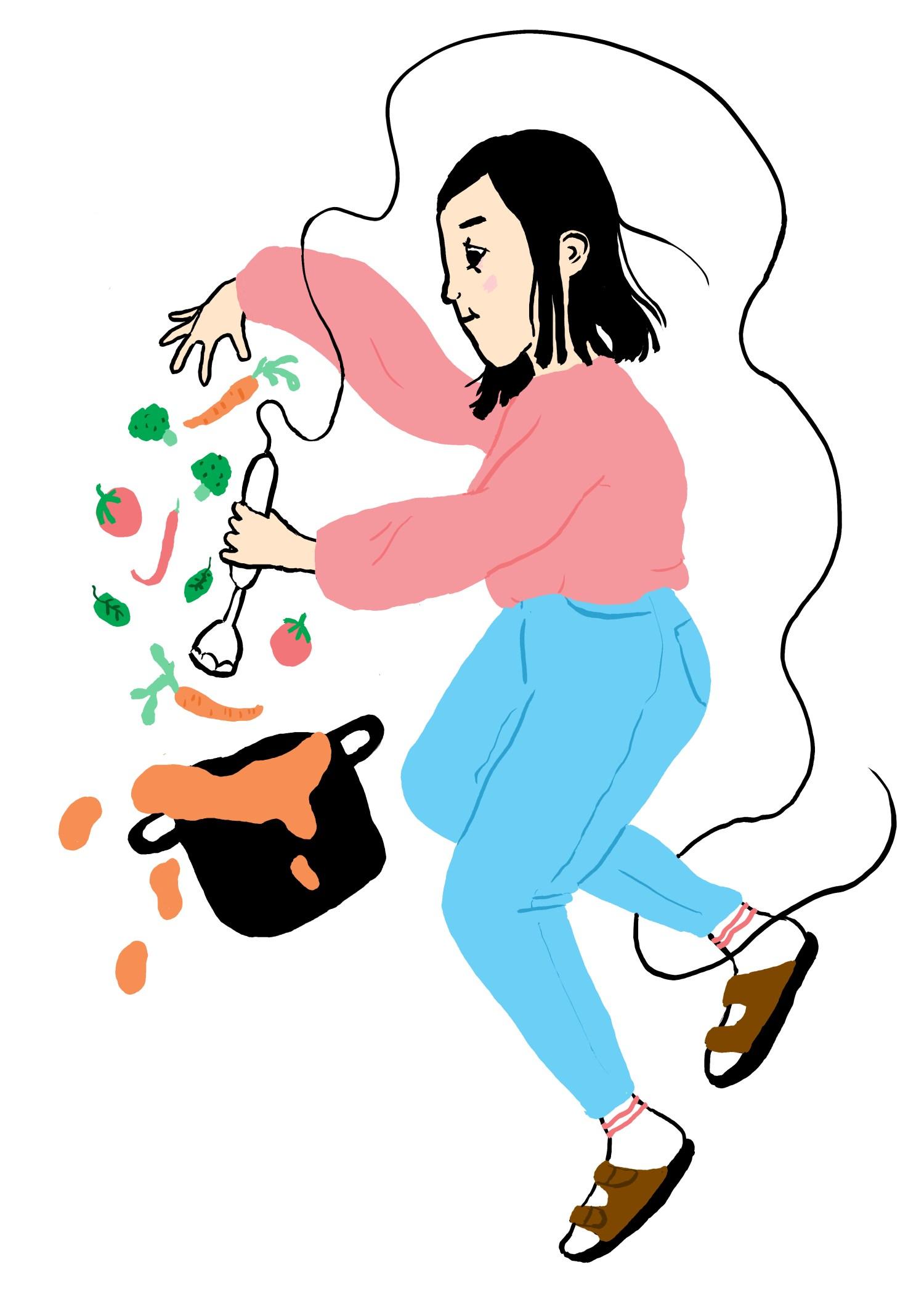 Illustrasjon: Lone Aadnekvam