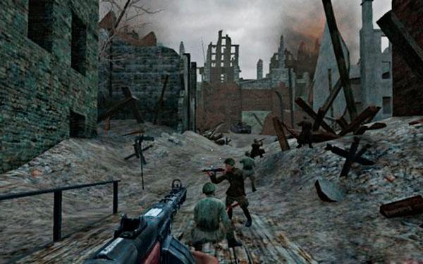 Вторая мировая война в играх