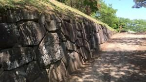 沼田城の石垣