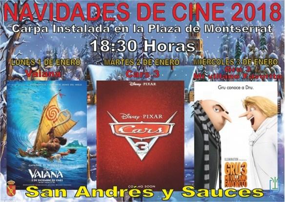 CARTEL DE NAVIDADES DE CINE