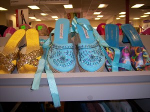Photo of Caribbean blue espadrilles for $5.99!
