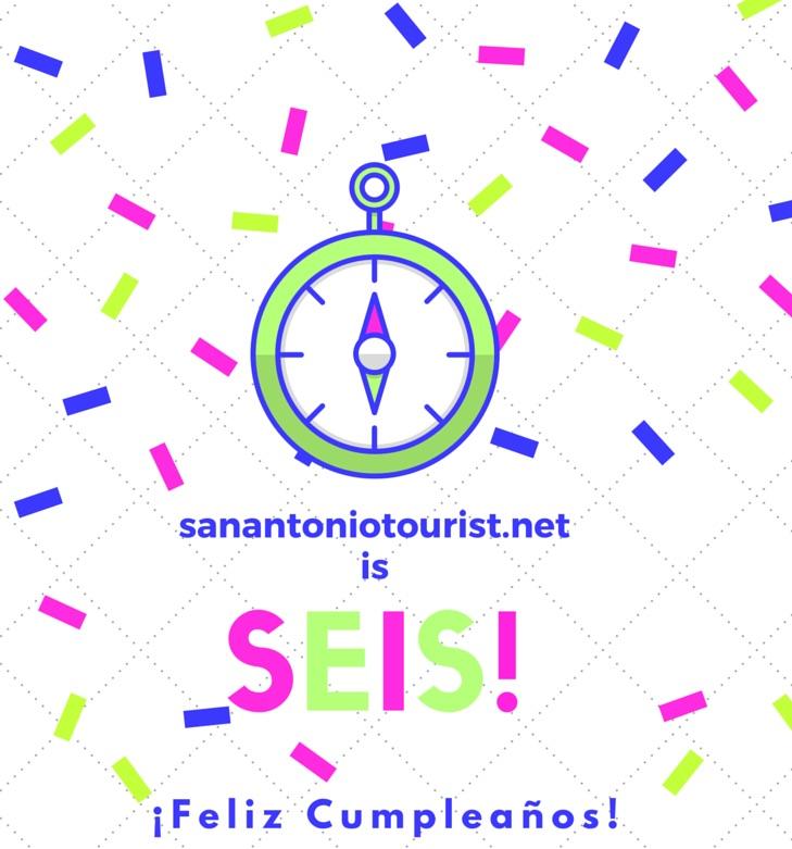 San Antonio Tourist is SEIS (six) image.
