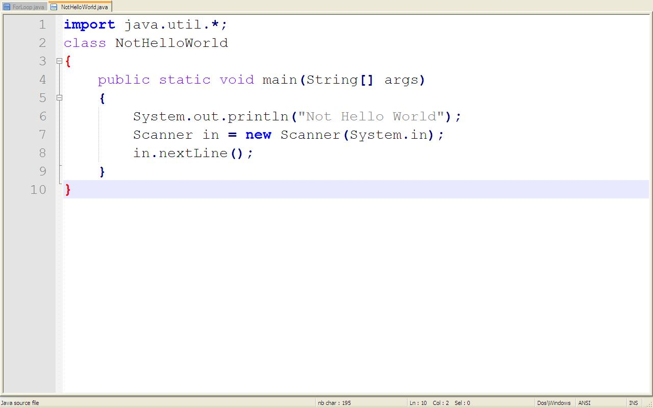 Out Java From Using Notepad To Compile And Run Java Programs Experiences
