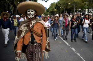 mex city protest