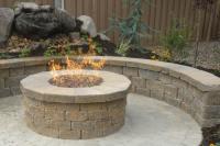Brick Fire Pit: Home-Like Feeling In Your Garden | Fire ...