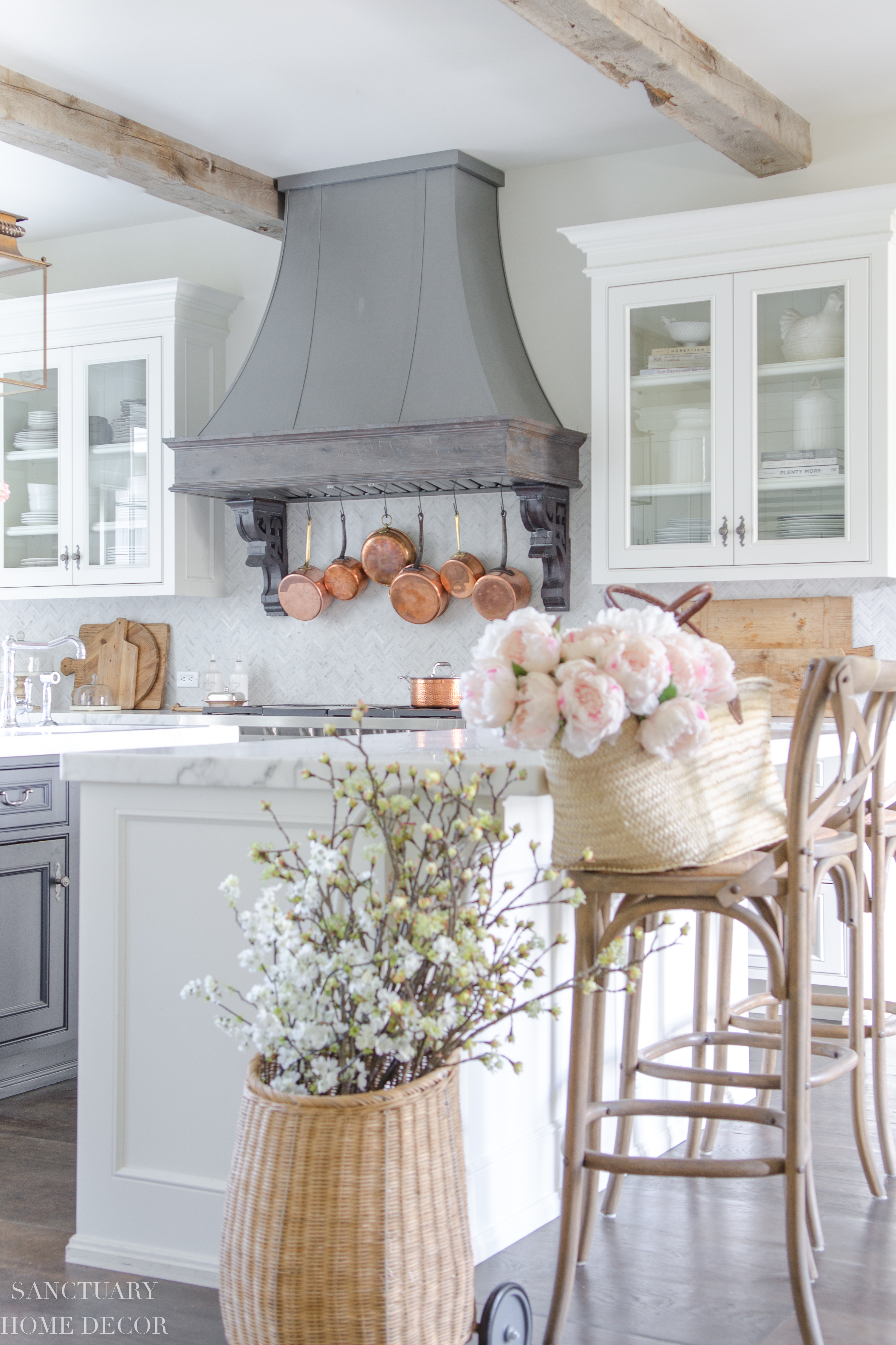 In Home Decorations Spring Home Tour Light And Bright Decorating Sanctuary Home Decor