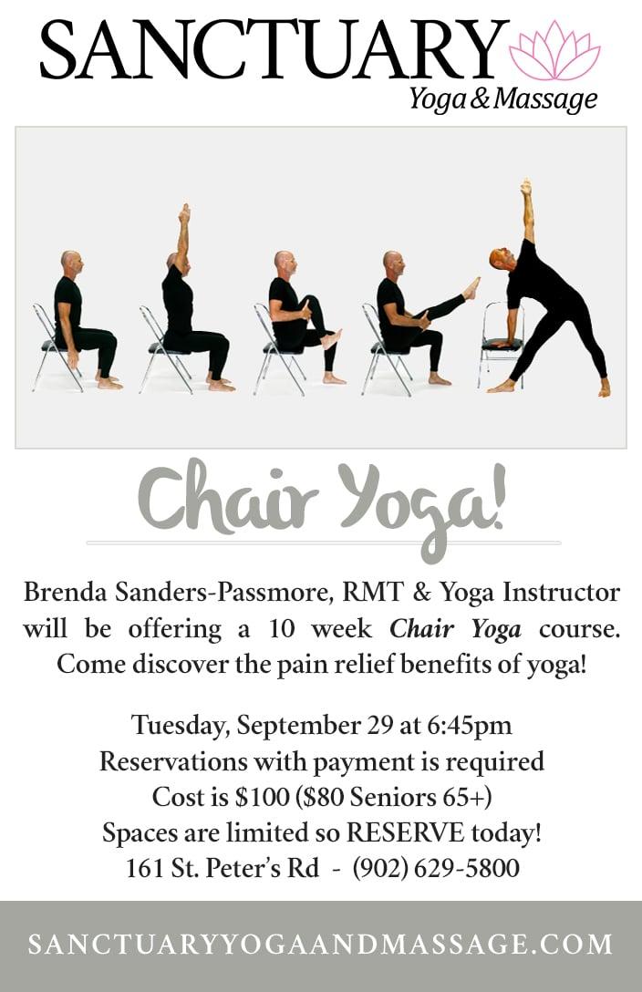 Sanctuary Yoga  Massage \u2013 Sanctuary-Chair-Yoga-Flyer