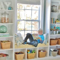 Playroom Storage Ideas - Decorating Built-ins