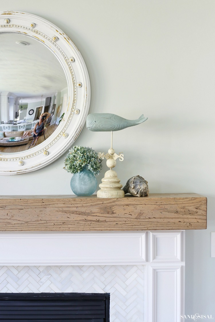 Fireplace Beam Mantel Diy Wood Beam Mantel