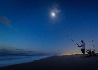 Night Surf Fishing (Month of October) – Sandbridge Life ...