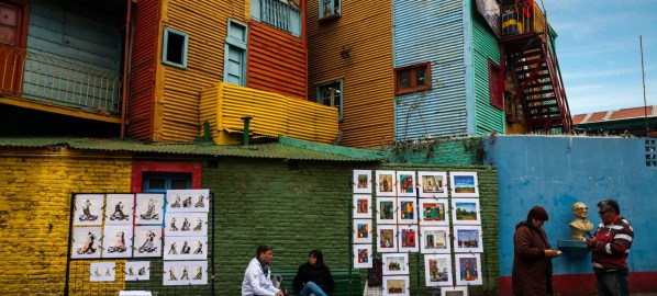 Art and neighbourhoods in Buenos Aires