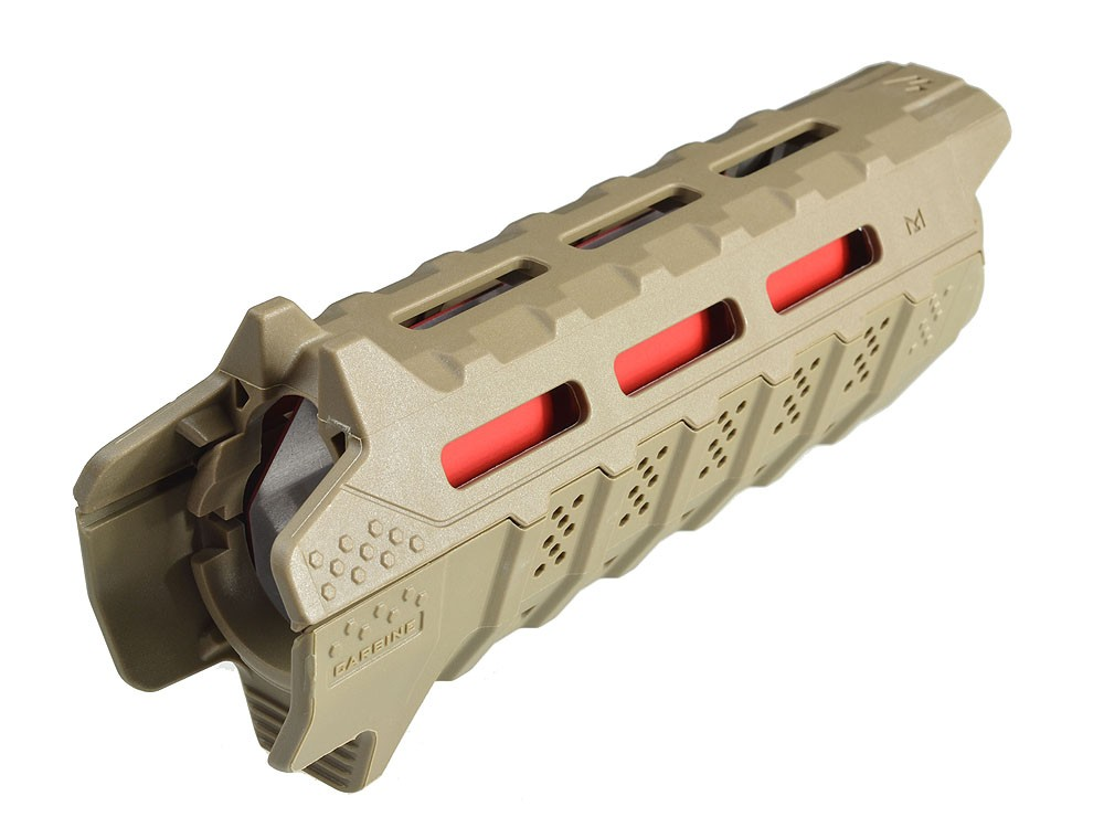 Viper Handguard Fde Red Heat Shield Carbine Length Fde