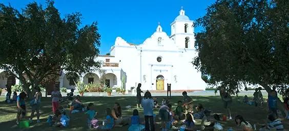 Mission San Luis Rey  King of the Missions - SAN DIEGAN