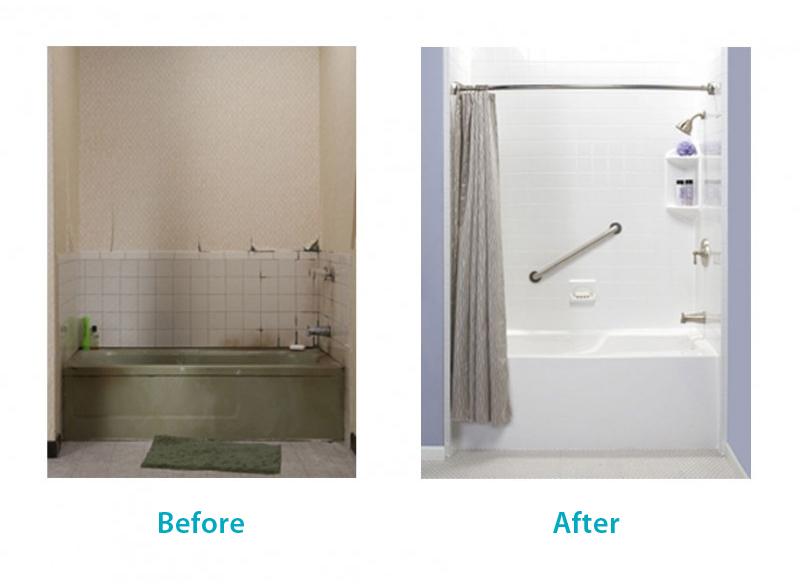 Bathroom remodeling san diego bath wraps