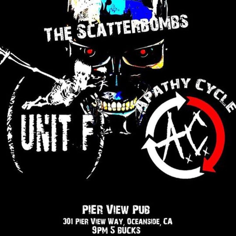 North County listen up! Pier View Pub 0130 The Scatterbonbshellip