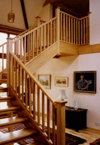 Home Builders Austin Bespoke Staircase Design & Manufacture In Caterham, Surrey
