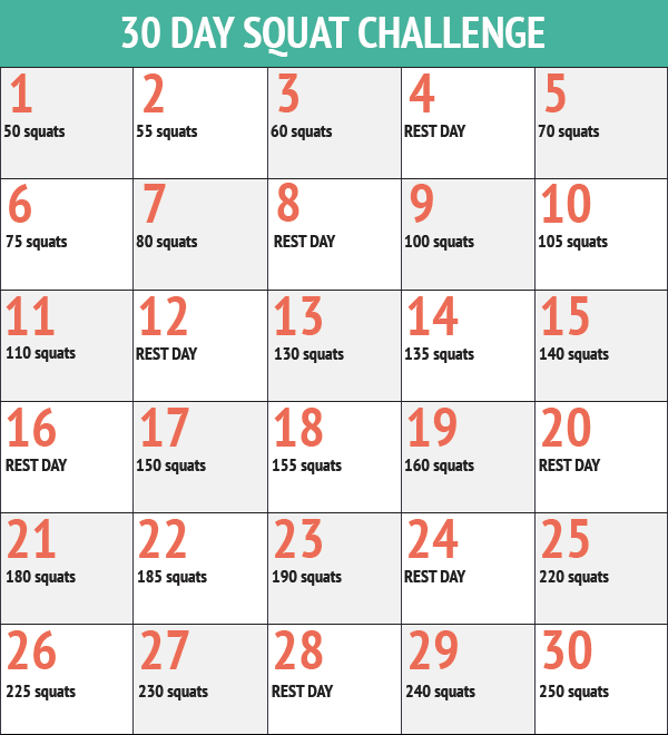 Hema Fleece 30-day Squat Challenge – Sandra Beleeft