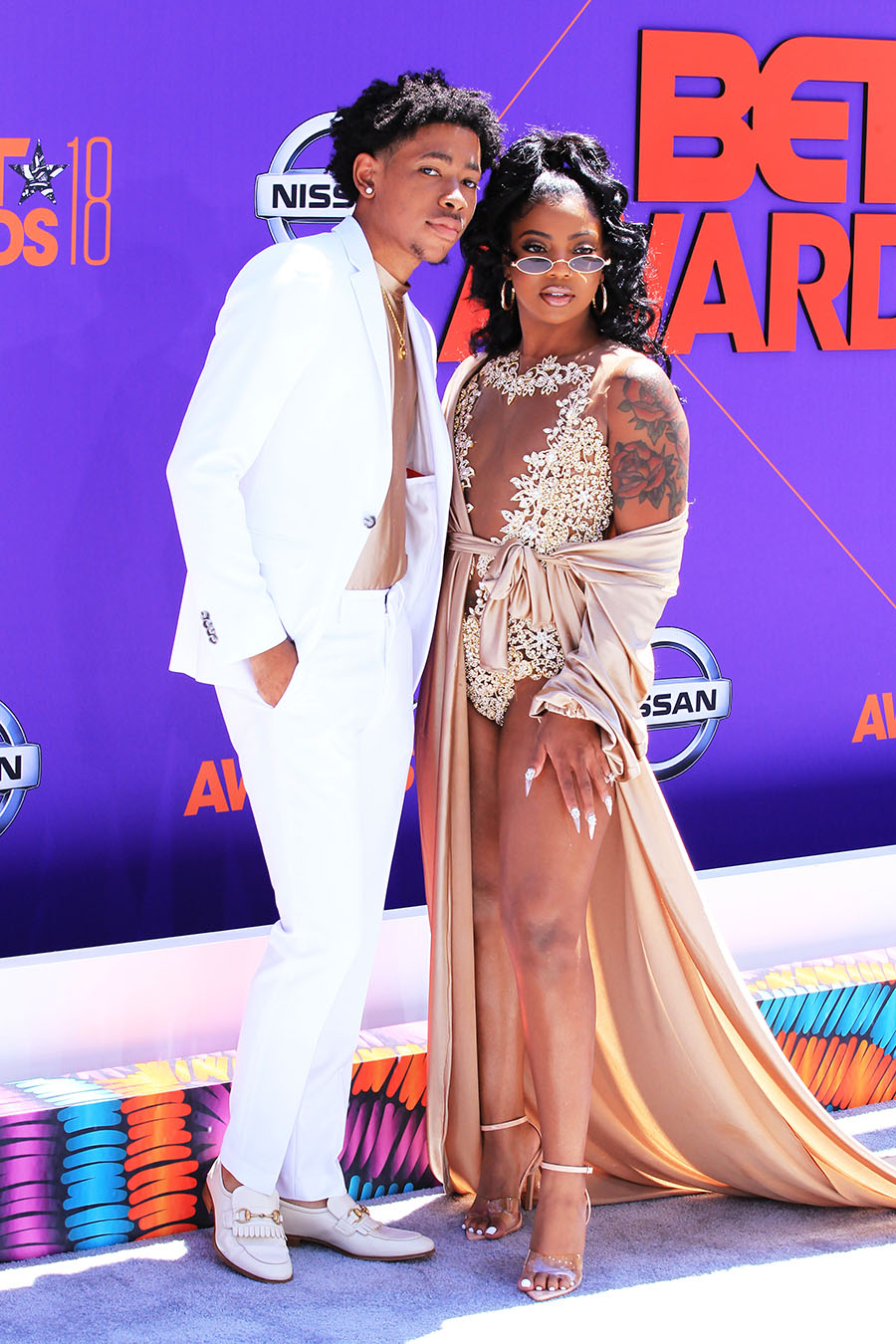 Interior Design Jobs Los Angeles Ken And De'arra Of Dk4l Attend The 2018 Bet Awards At