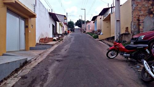 Descida da rua Otávio Passos (Foto: Sandro Vagner)