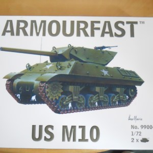 Armourfast m10 with armoured roof, exhausts and rear idlers offer