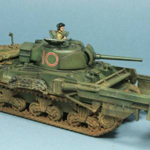 1/72 PSC M4A4 Sherman x1 & Crab flail offer