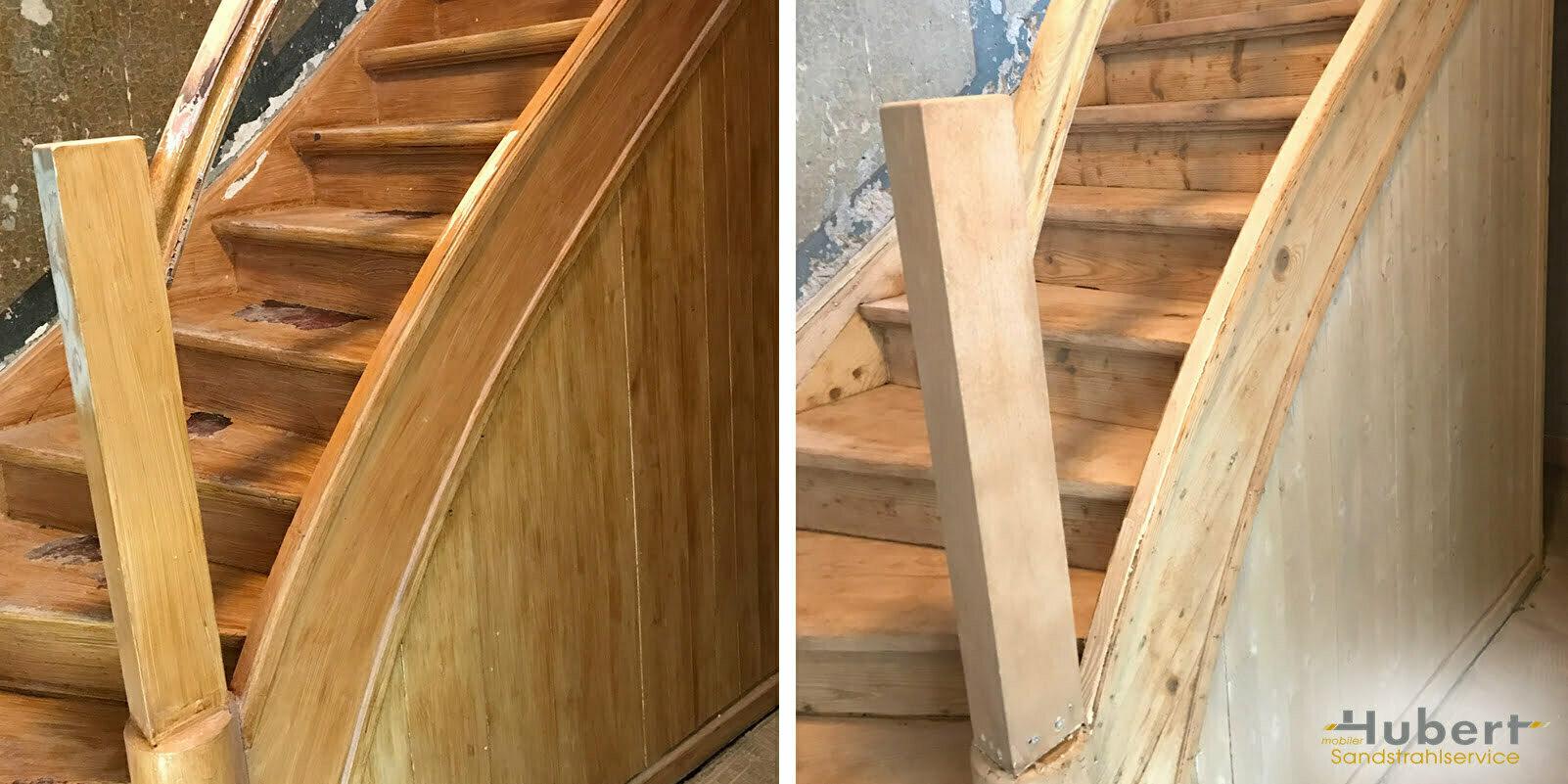 Mobel Abbeizen Oder Abschleifen Alte Holztreppe Sanieren