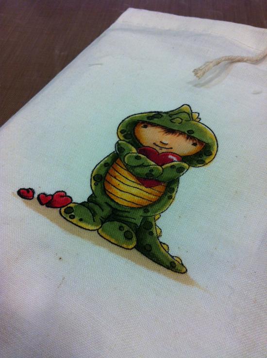 Sandy Allnock - fabric coloring