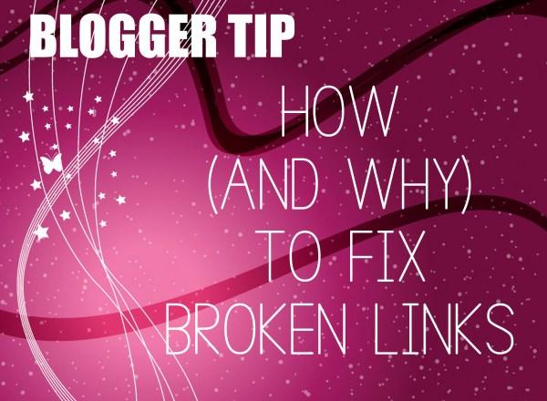 how to fix broken links wordpress