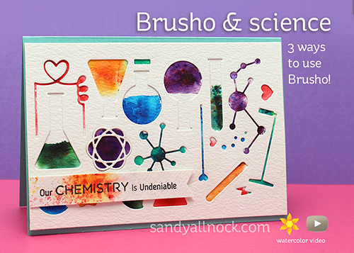 Sandy Allnock Brusho and science