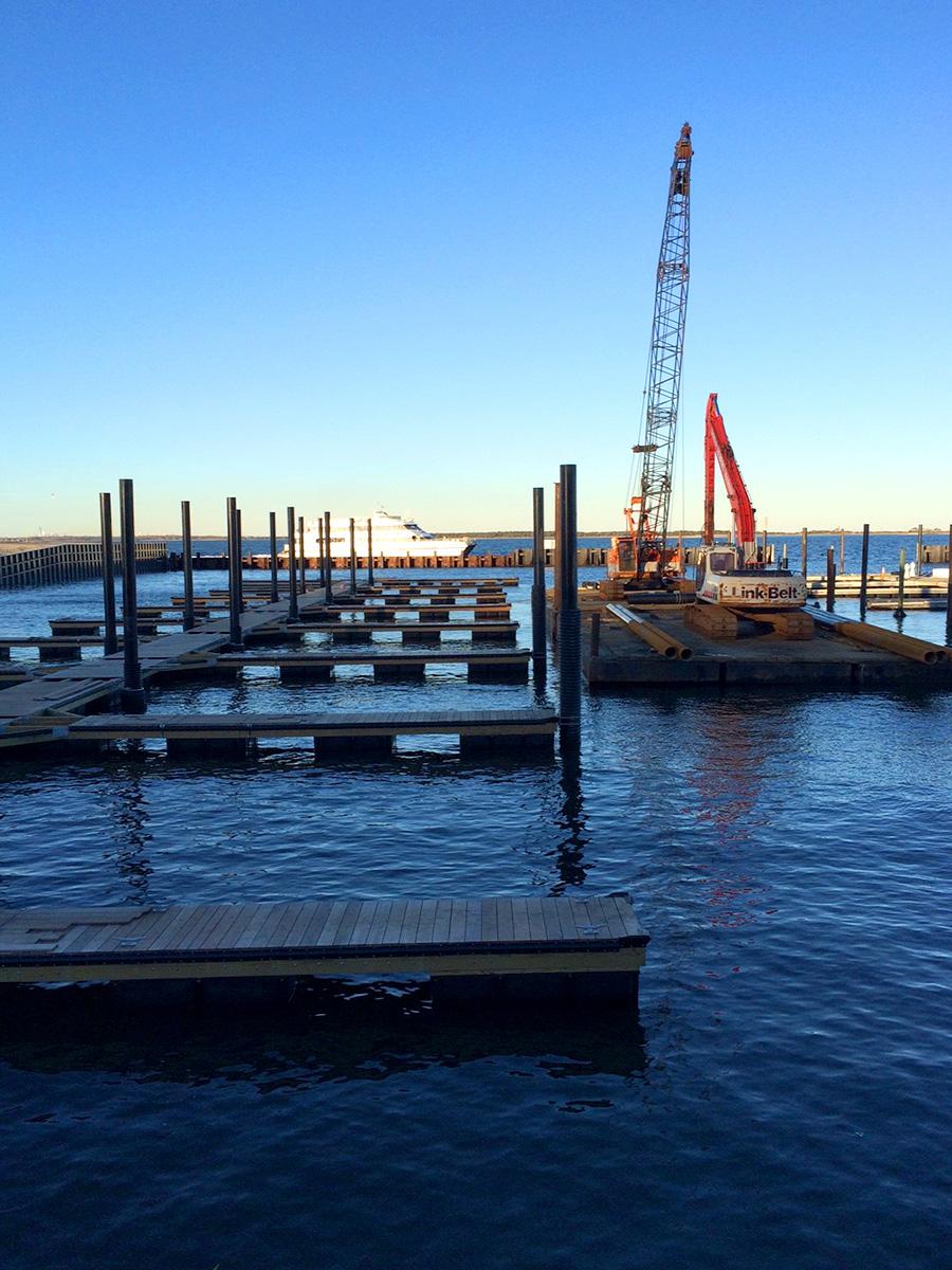 New Sullivan Floating Docks