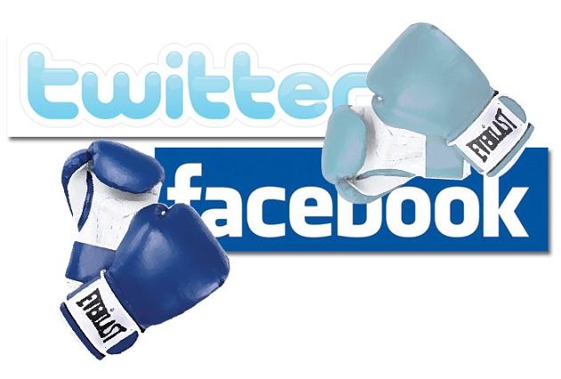facebook vs twitter