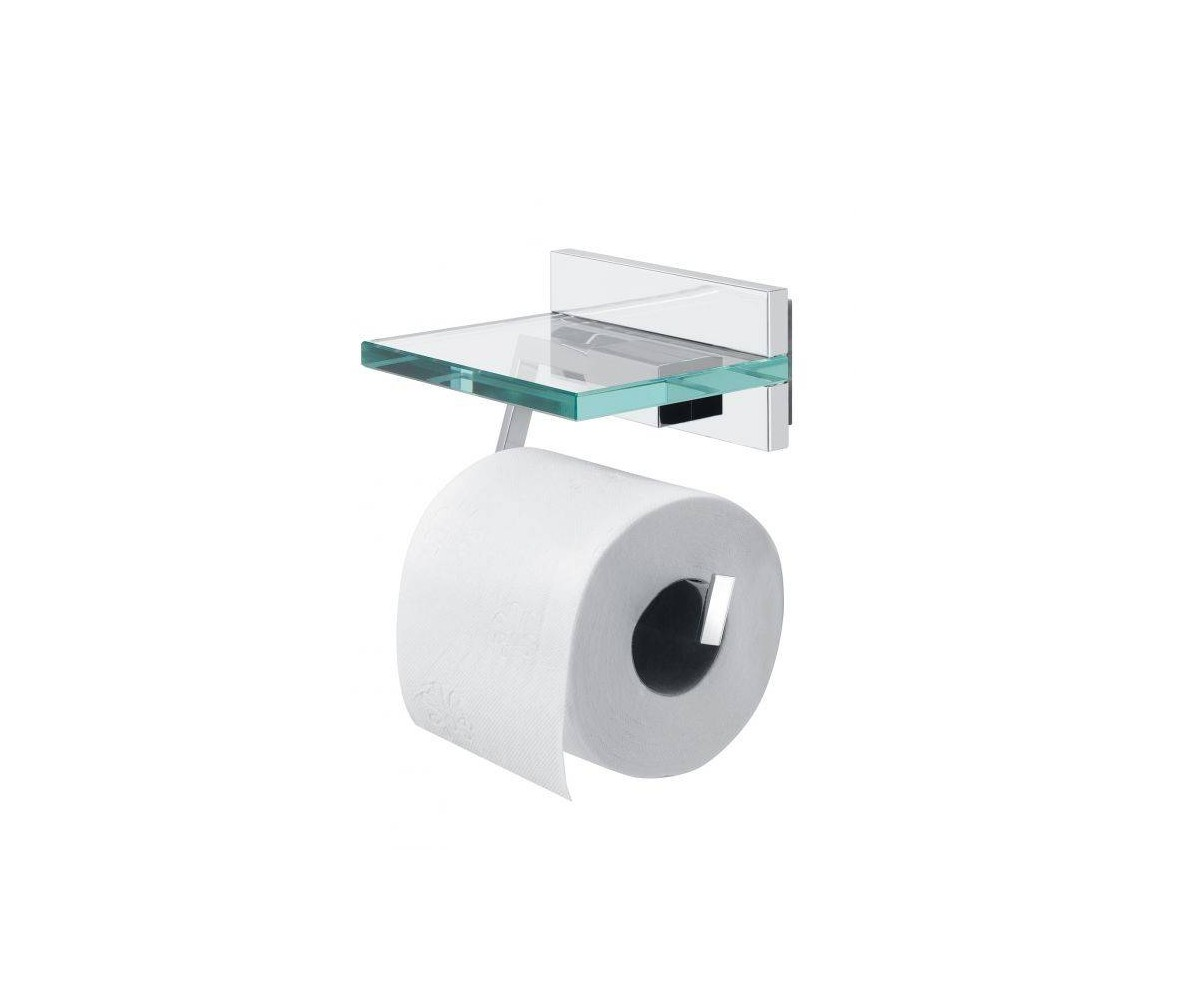 Covered Toilet Paper Storage Tiger Safira Toilet Paper Holder With Cover Chrome Glass