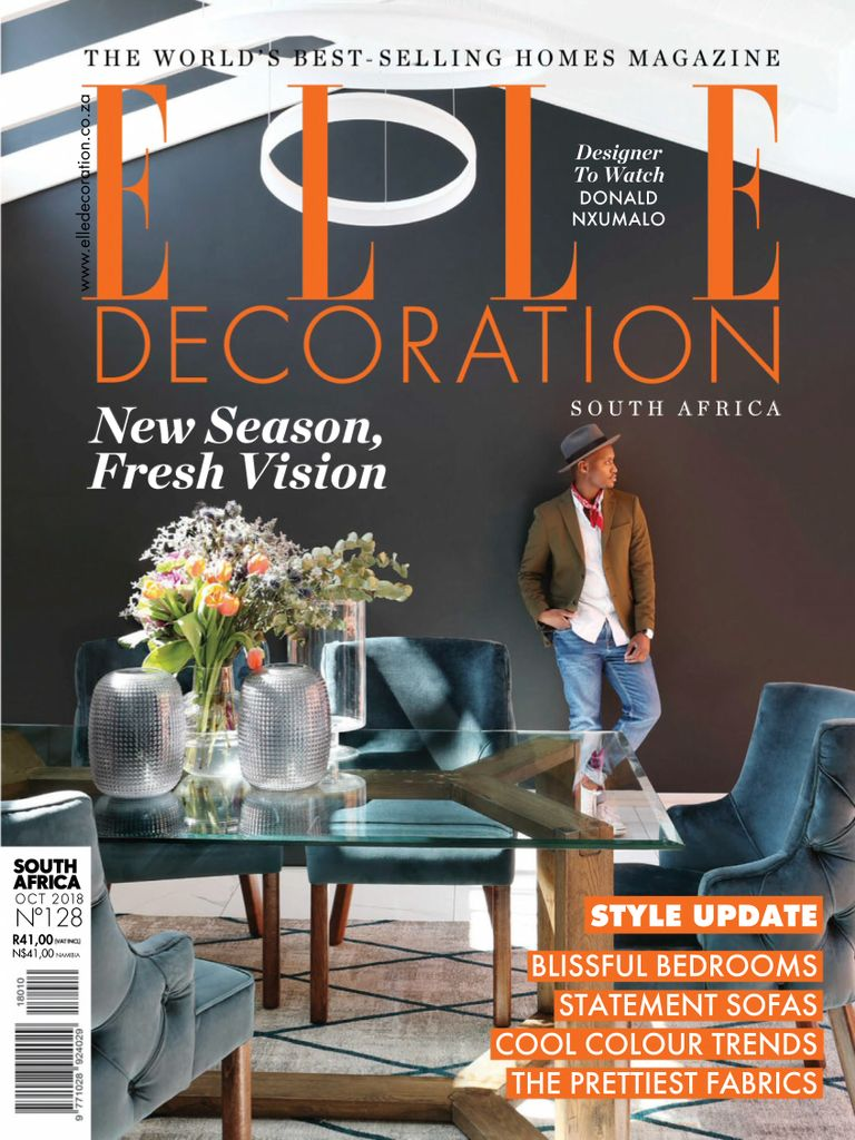 Elle Decoration South Africa Download Elle Decoration South Africa October 2018