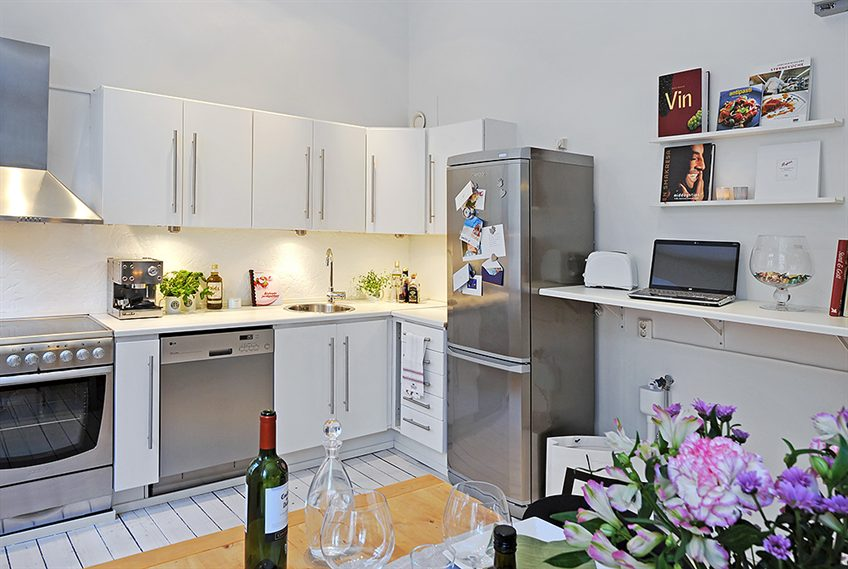 How to decorate a small kitchen  San Francisco Home Decor