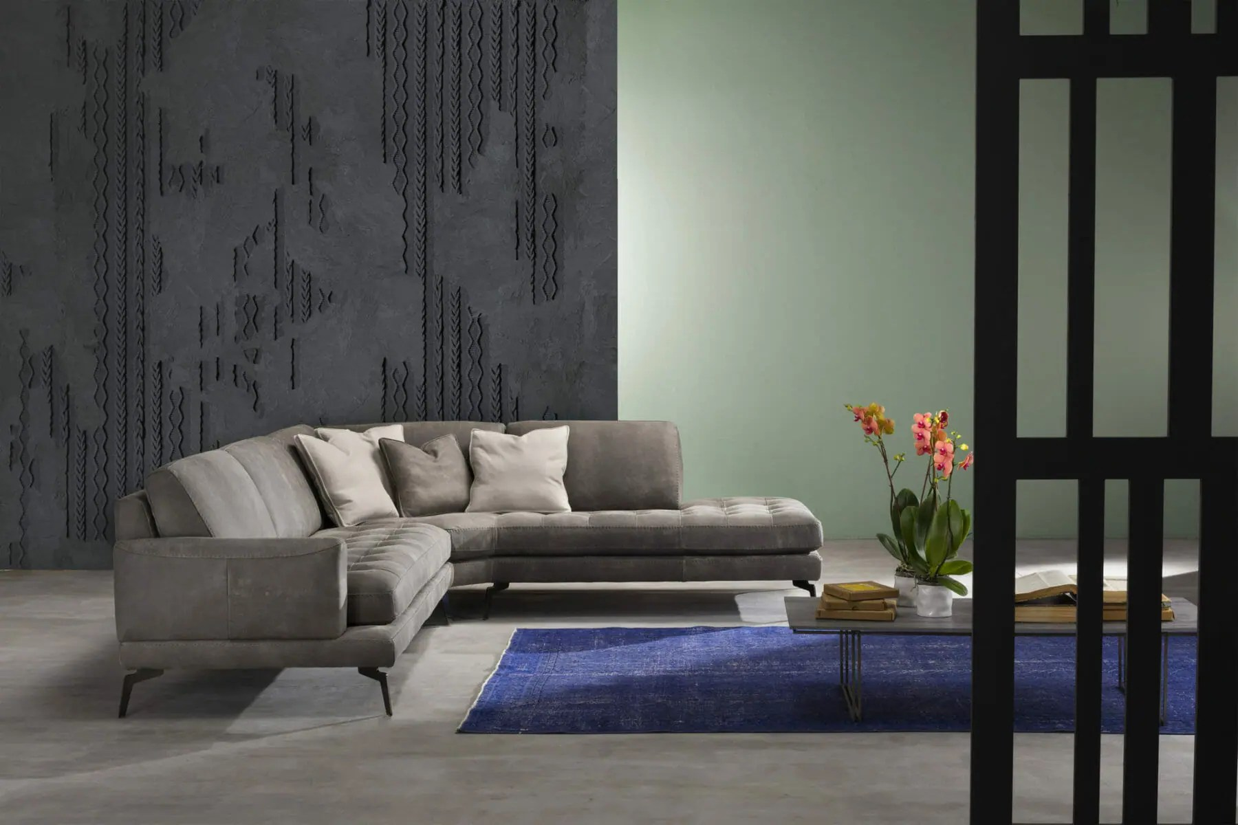 The Living Sectional Modern Sectional Sofa San Francisco Design