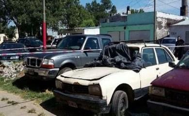 Homicidio seguido de robo en Los Cardos: encontraron la camioneta en Rosario