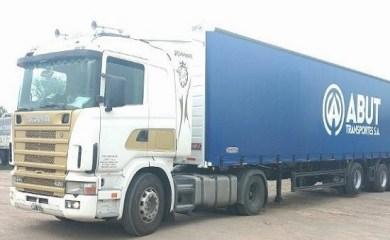 La empresa Abut de Centeno sufrió el robo de uno de sus camiones con carga