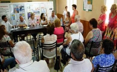 San Genaro: autoridades de ANSES y PAMI visitaron en la ciudad
