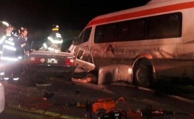 Tres jóvenes murieron en un terrible choque en Timbúes
