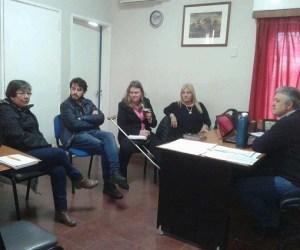 Analizan la posibilidad de crear un anexo de la Escuela de Enfermería en San Genaro
