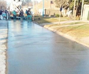 La Municipalidad de San Genaro sigue trabajando para mejorar las calles