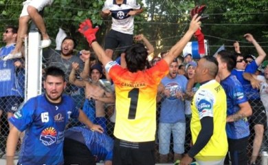 Liga Totorense de Fútbol: Por las manos de Paolo, Sportivo Rivadavia es finalista