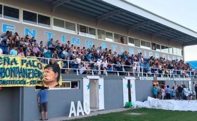 """Las Parejas: Quedó inaugurado el Estadio Roberto """"pato"""" Abbondanzieri"""