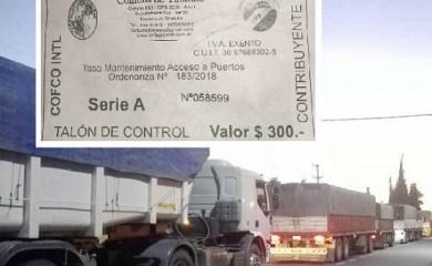 La carta viral de un camionero que pasó más de un día en la región para descargar