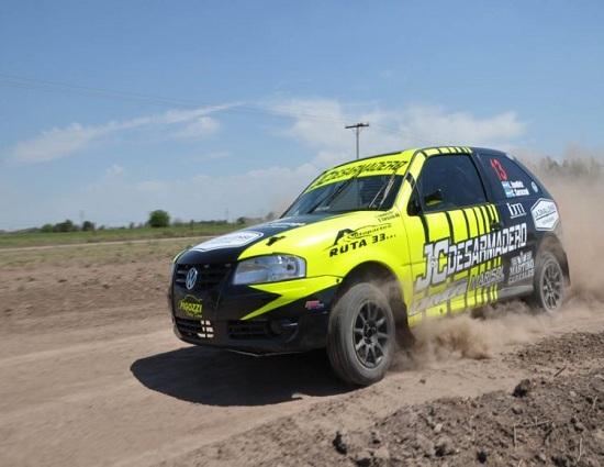 Díaz vivirá la adrenalina del Rally Santafesino
